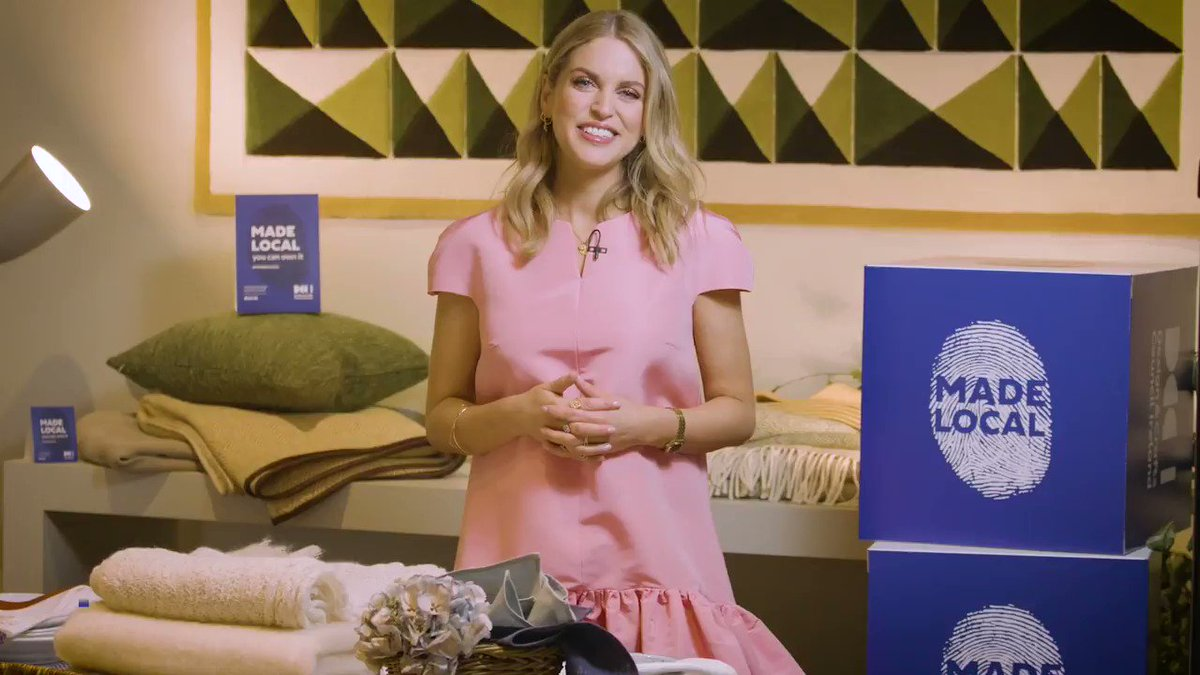 Super to see Irish actor and author, @amyhuberman, speak about the importance of supporting Ireland's creative talent.  #MADELOCAL #irishdesign #irishcraft #designireland #craftsmanship #amyhuberman   Watch below and here: https://t.co/xzRKfjfFNv https://t.co/6WnAOumvgy