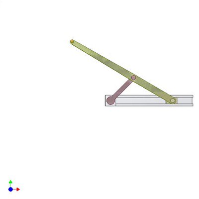 Straight Line Drawing Mechanism