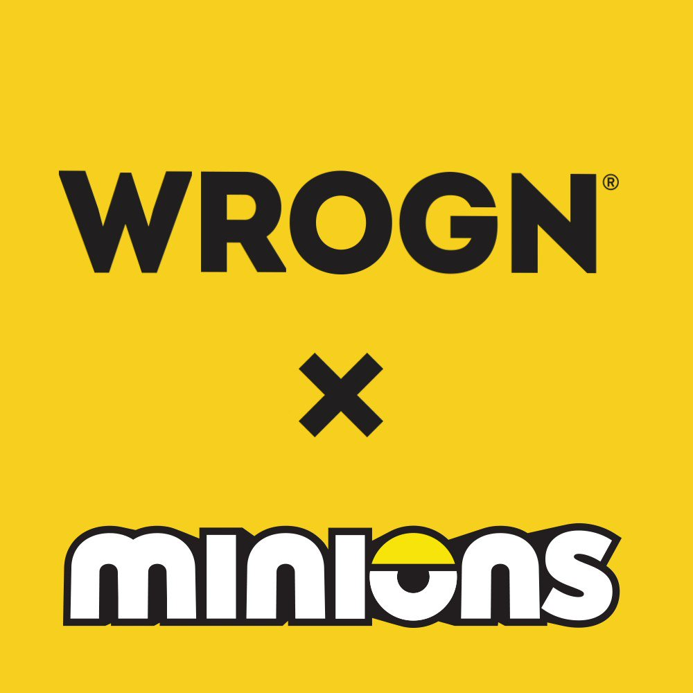 They are yellow & mischievous and can now be yours!  Shop the WROGNxMINIONS collection here:   @Minions @BWObrands #staymad #staywrogn #minions #despicableme #Tees #menswear #mensstyle #funny #casualwear