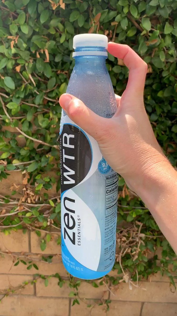 Pop me another! @drinkzenwtr recycles up to 5 certified ocean plastic bottles in every bottle. #thirstyforchange #addicted