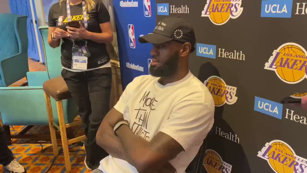 RT @TaylorRooks: I asked Lebron for a scouting report on the Blazers and he delivered. https://t.co/dm8XcCRCQ3