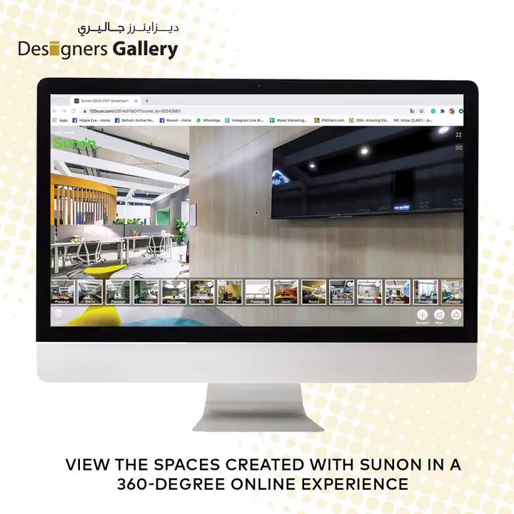 Using a human-centric design approach, the Sunon 2020 CIFF showroom empowers people to re-imagine the concept of a safe office after COVID-2019.       View the space created with Sunon in this 360-degree online experience. >> https://t.co/o1rRKwiSFF https://t.co/BFNsX7x3L8