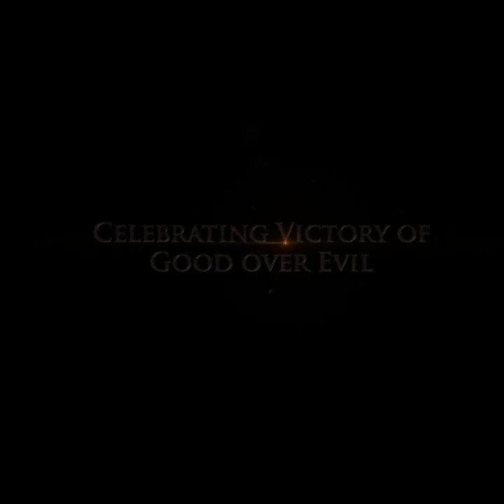 Celebrating the victory of good over evil... Title Announcement #Adipurush  #Prabhas @ItsBhushanKumar @vfxwaala @rajeshnair06 @TSeries @retrophiles1 #TSeries