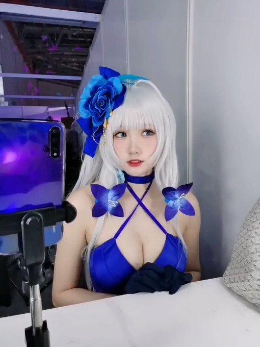 コスプレイヤー瓜希酱のTwitter動画48