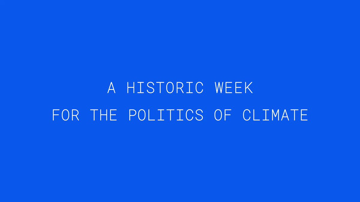 Music to my ears last week to hear climate discussed 90 times by 62 different speakers at the #DemConvention!  Check out a little recap: https://t.co/Z96JnoVAfp