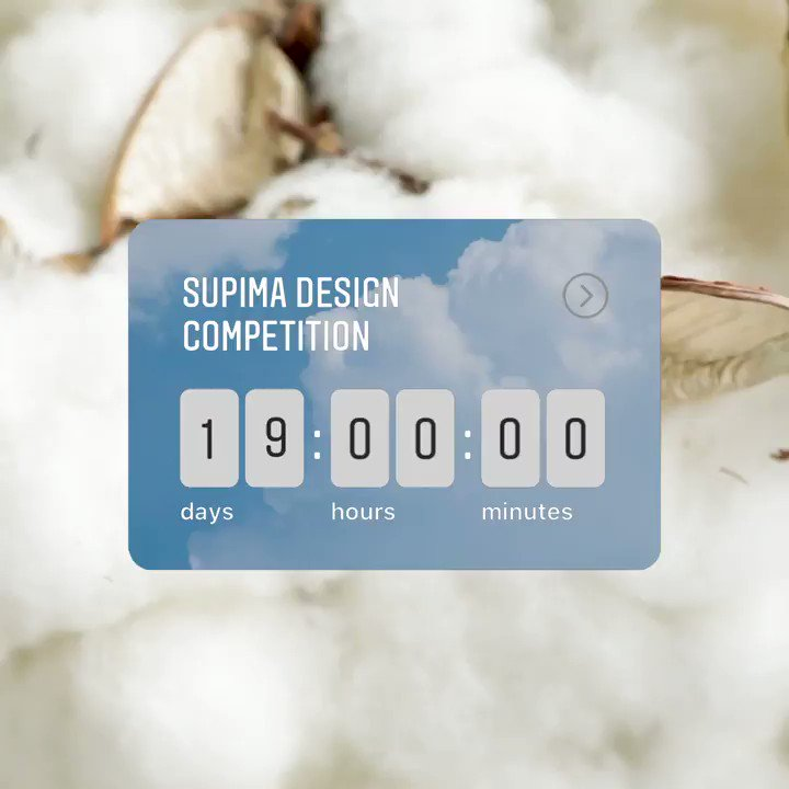 Make your calendars for the 13th annual #SupimaDesignCompetition on September 10th at 3pm EST! We'll be broadcasting all the looks LIVE with our host @luxurylaw right here on Instagram. Hands up in the comments if we'll see you there. 🙋