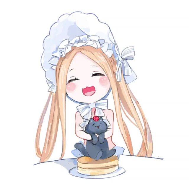 歌 の 黒 パン ケーキ 猫
