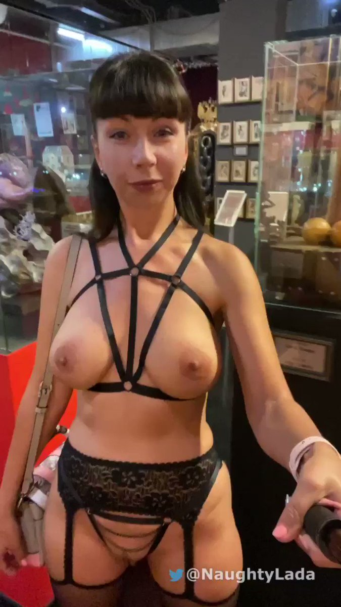 Naughty Lada - I just visited the erotica и useum. Here are a selfies