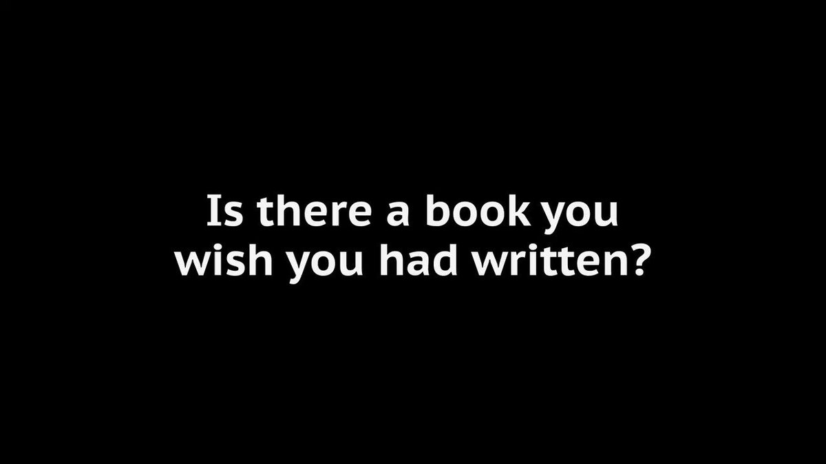 Lets #AskLee Is there a book you wish you had written?