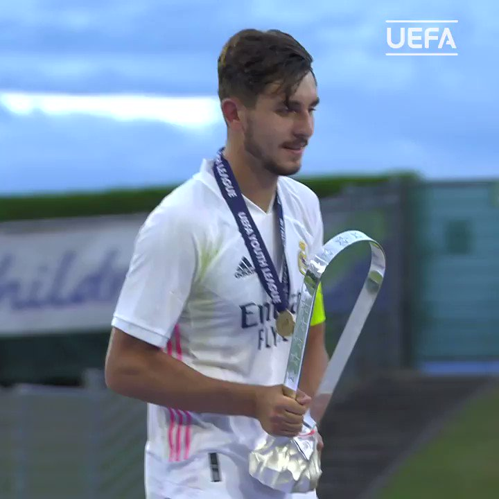 The future looks bright for Real Madrid! 🌠  2020 #UYL champions! 🏆