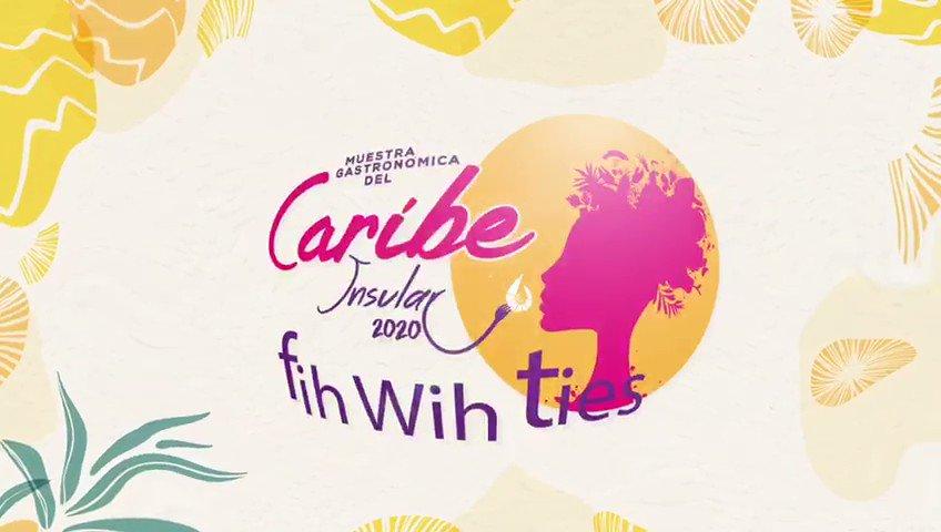 """SENA on Twitter: """"Acompañanos en esta sexta versión de la Muestra  Gastronómica del Caribe Insular 2020 """"FIH WIH TIES"""" del 27 al 29 de agosto  y antojate de todas las delicias isleñas."""