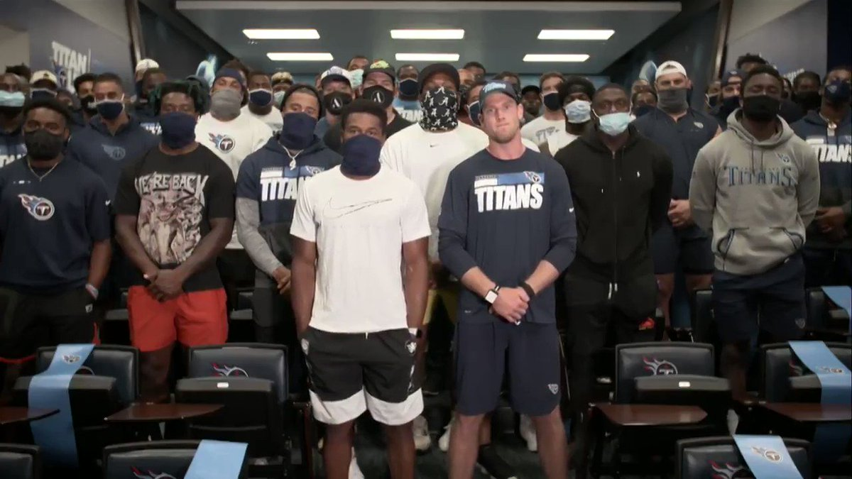 """Titans quarterback Ryan Tannehill: America """"was founded on racist ideals.""""   Even a basic understanding of history shows how wrong he is. Shameful. https://t.co/Ga70CqOzoO"""