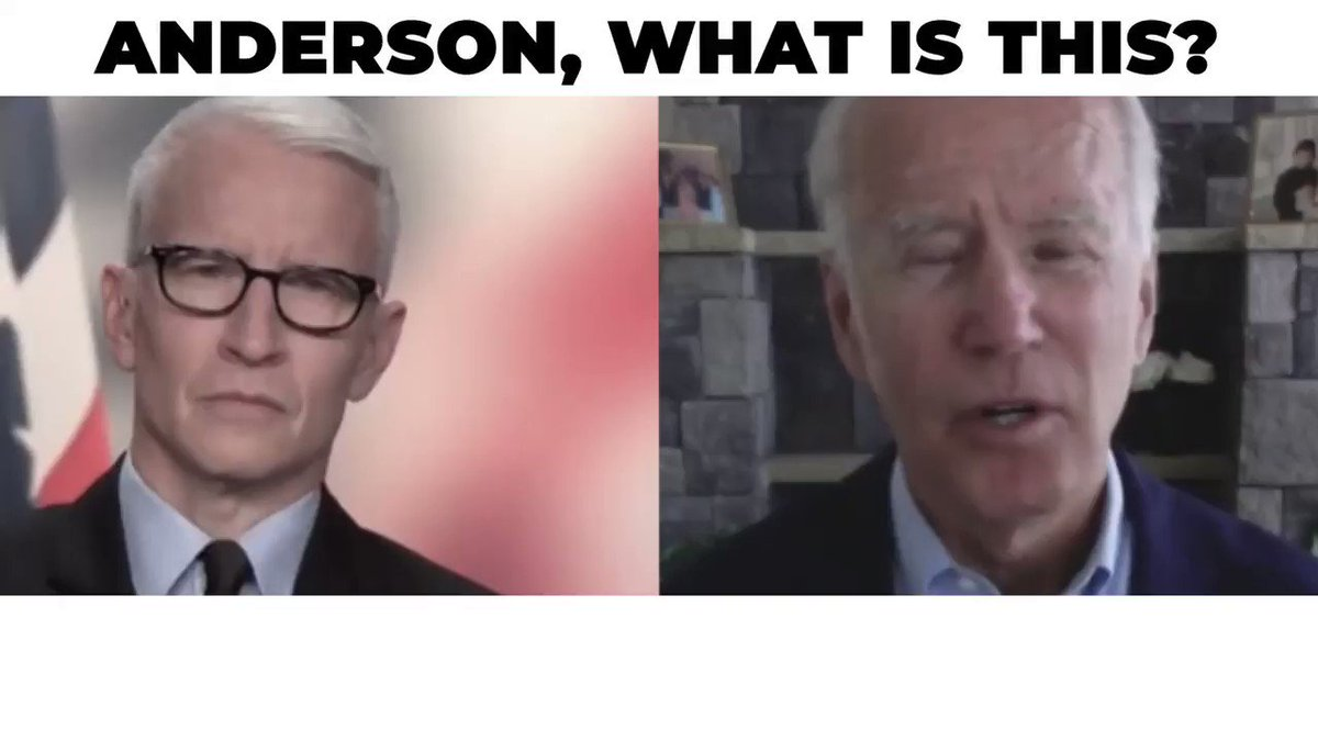 .@CNN likes to pretend they put #factsfirst, but here is @AC360 letting Biden get away with a disgusting lie about @realDonaldTrump with zero pushback. I notice CNNs fact checker @ddale8 has been silent on it too. They are political activists cosplaying as journalists!