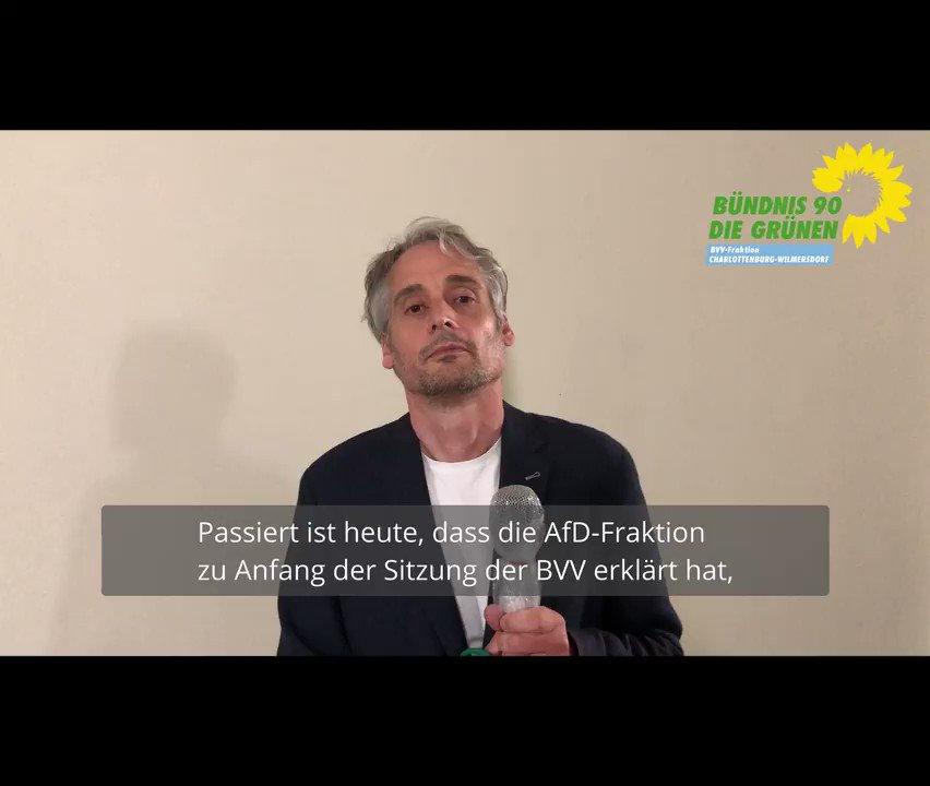 Image for the Tweet beginning: Die AfD erklärt in #BVVCW,