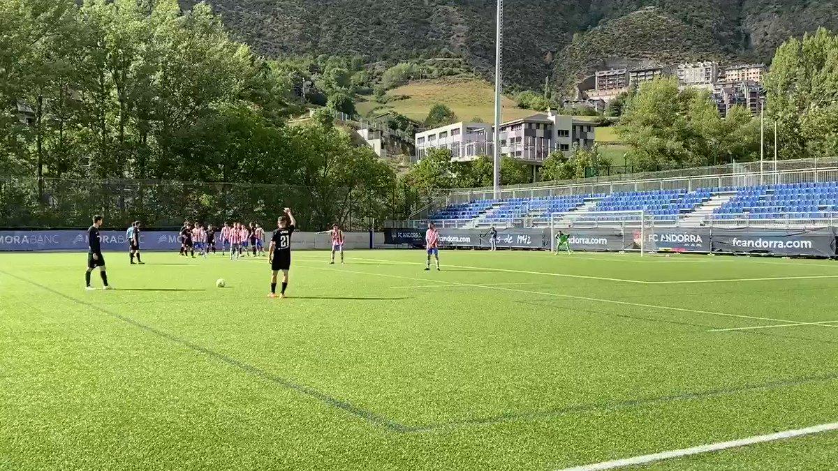 Min. 16 | 0-1 | 💥 Ocasió tricolor  Primera arribada a l'àrea rival amb una bona falta picada per @ruben_bover que no aconsegueix crear perill.  #AndorraMartorell #SomTricolors🔵🟡🔴 #MésViusQueMai