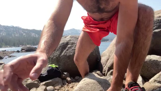 PUBLIC VID: retweet ONLY if nature gives you a boner too 😜🌲🌱🍆💦   Uploading full video soon ⏰ https://t