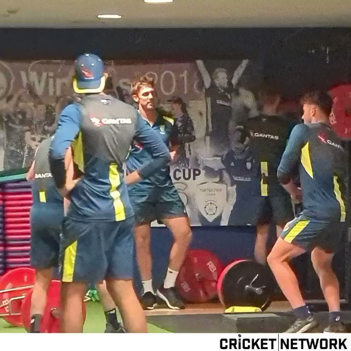 Let's hope the Aussies can play cricket better than they can dance 😭🤣