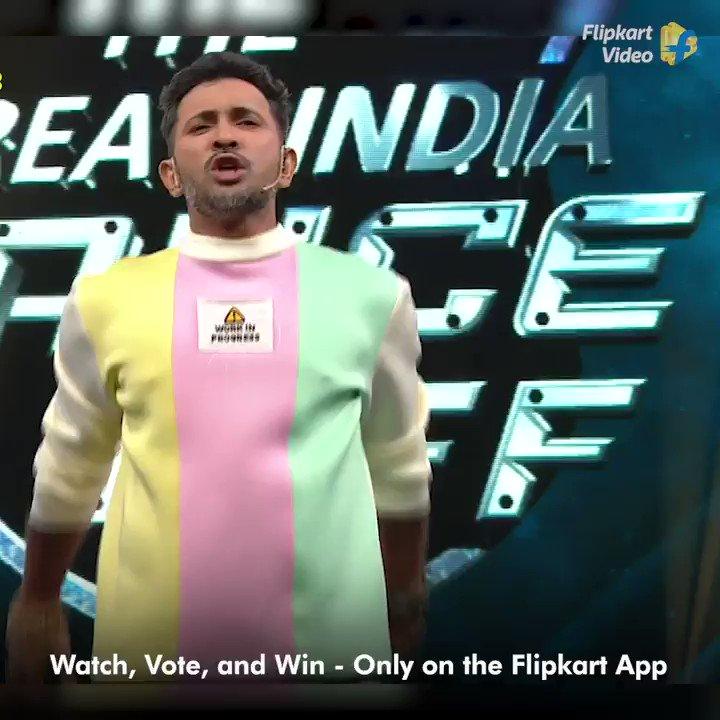 Dance show jahan janta jeetegi aur jeetayegi! Watch the second battle of #TheGreatIndiaDanceOff, live on the #FlipkartApp. https://t.co/BmJfvIMlQP  #Dance #DanceShow @terencehere https://t.co/9ghRq0YUX4