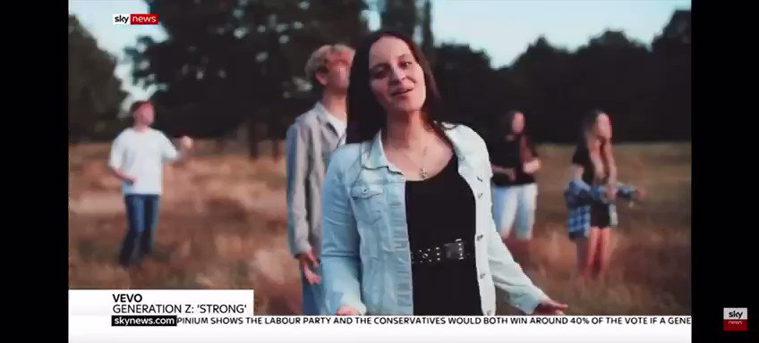 Catch us on @SkyNews today talking about young people's mental health during lockdown, and our work with @STRONGOFFICIAL_ and Generation Z, supporting @griefencounter #inthenews #bereavement #anxiety #loss #support #griefsupport https://t.co/Hh0Ks061Di