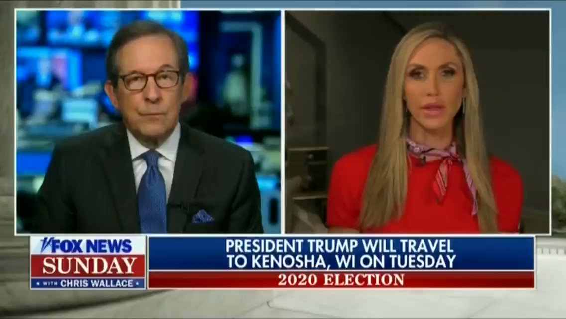 """I think the message is he cares about each and every American…Throughout this country and Democrat-run cities, the people that are in charge, the mayors of these cities have let their citizens down.""—@LaraLeaTrump"
