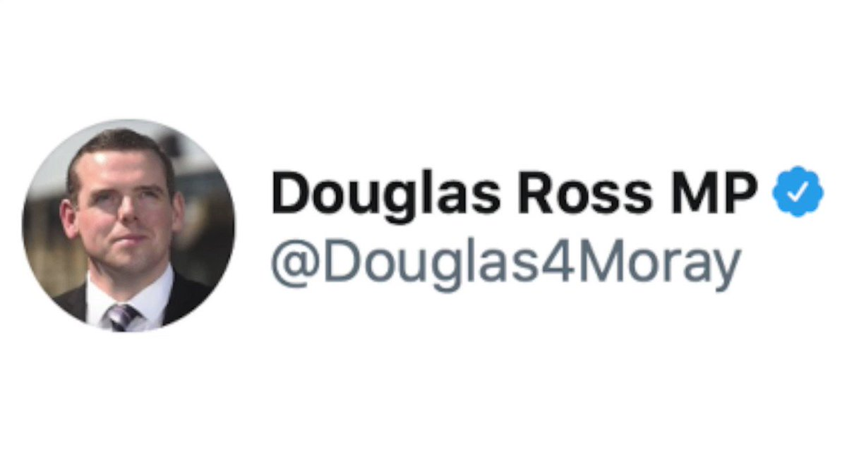 Douglas Ross caught in the web of his own lies earlier today #bbcgms @ScotTories
