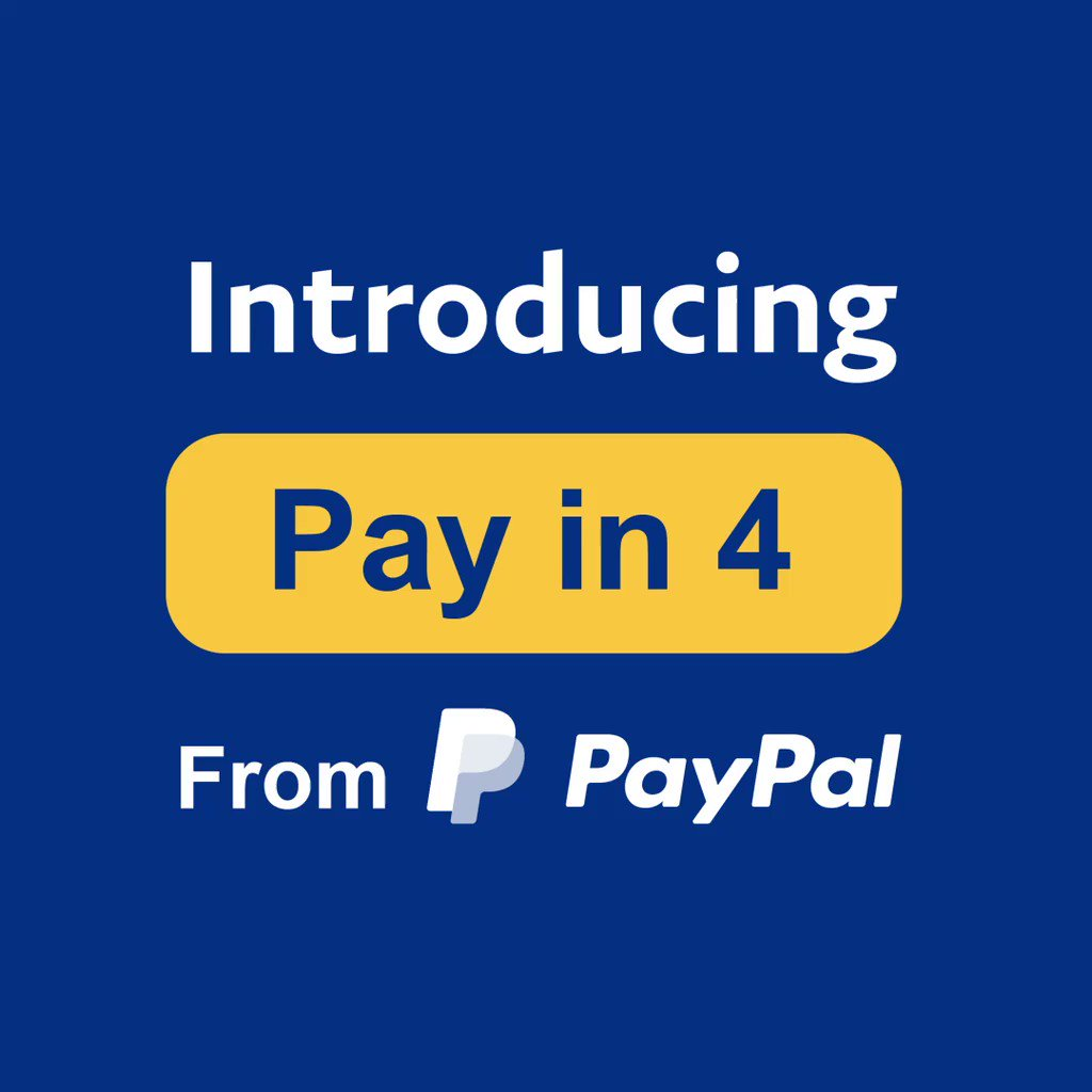 "PayPal on Twitter: ""Introducing Pay in 4 from PayPal – a buy now, pay later  interest-free installment solution, just in time for the holidays. Grow  revenue and conversion at no additional cost."