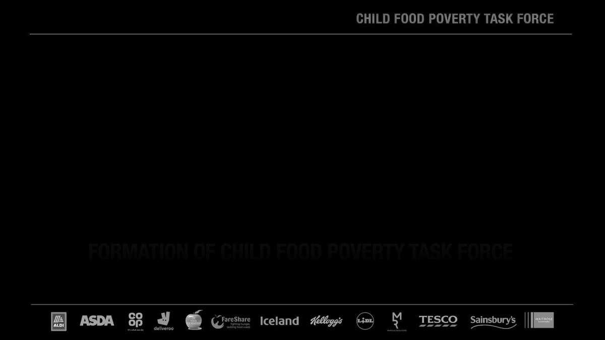 For the millions who don't have the platform to be heard... 🗣 #ENDCHILDFOODPOVERTY