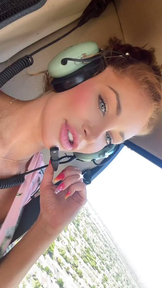 Naked Helicopter Ride New on my Onlyfans onlyfans.com/nicolettesheas… 🚁💦😈