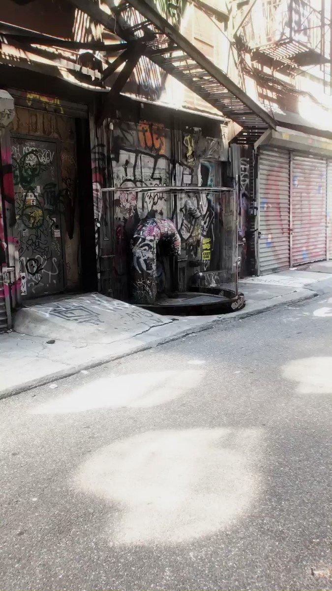 Back Alley Recycling #motionGraphics #AR #digitalart #AugmentedReality #cinema4d