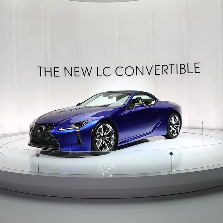 Retract the roof, and fasten your seatbelt. Introducing the thrilling new #LexusLCC. lexus.us/3b2gO3E
