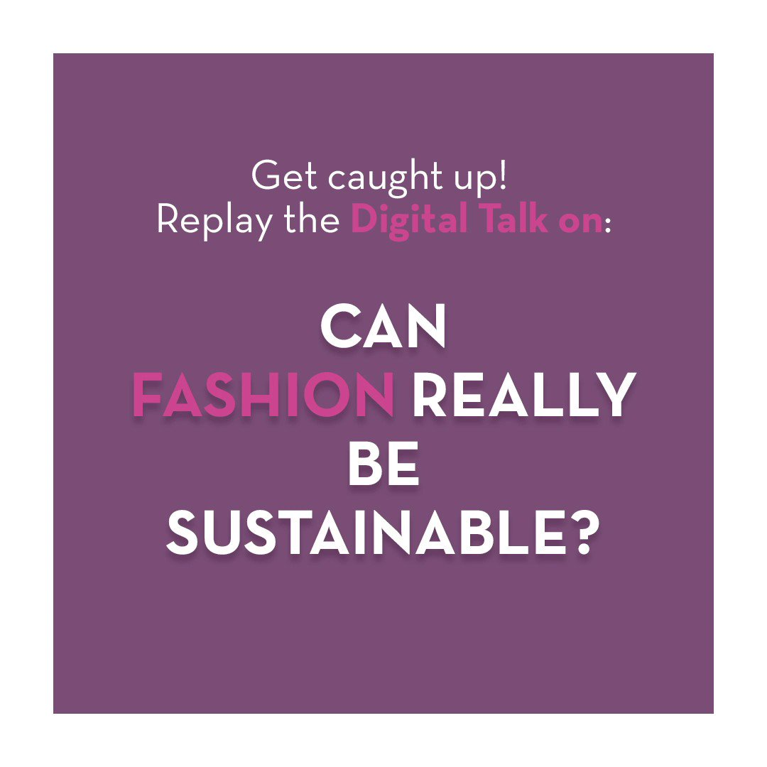 Listen to our Digital Talk: Eco-responsibility and sustainability now seem to be unavoidable for consumers; and this concern was accelerated by the world health crisis. Were fashion brands quick enough to adapt? What concrete actions are carried out?  https://t.co/FnSRGXxNUs https://t.co/OiDm26nIfp
