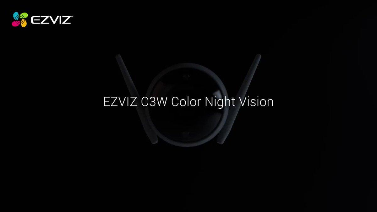 #夜の彩り EZVIZ初代目フルカラー暗視カメラ。 C3W Color Nightは夜にも彩った画像を撮ることを実現できただけではなく、お家に調節可能な屋外照明も提供します。 詳細を見る: https://t.co/CZMqPNfKGO #EZVIZ #C3W
