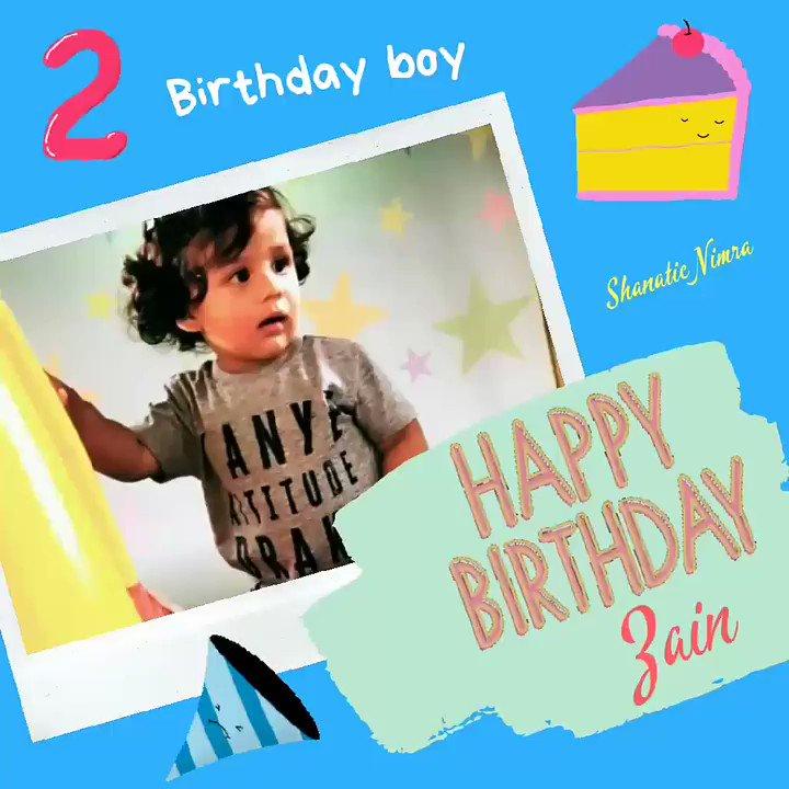 Happy two to @shahidkapoor & Mira's baby boy🎊🎊 warm virtual hug & kisses to you mini Shahid❤😘 #HappyBirthdayZainKapoor