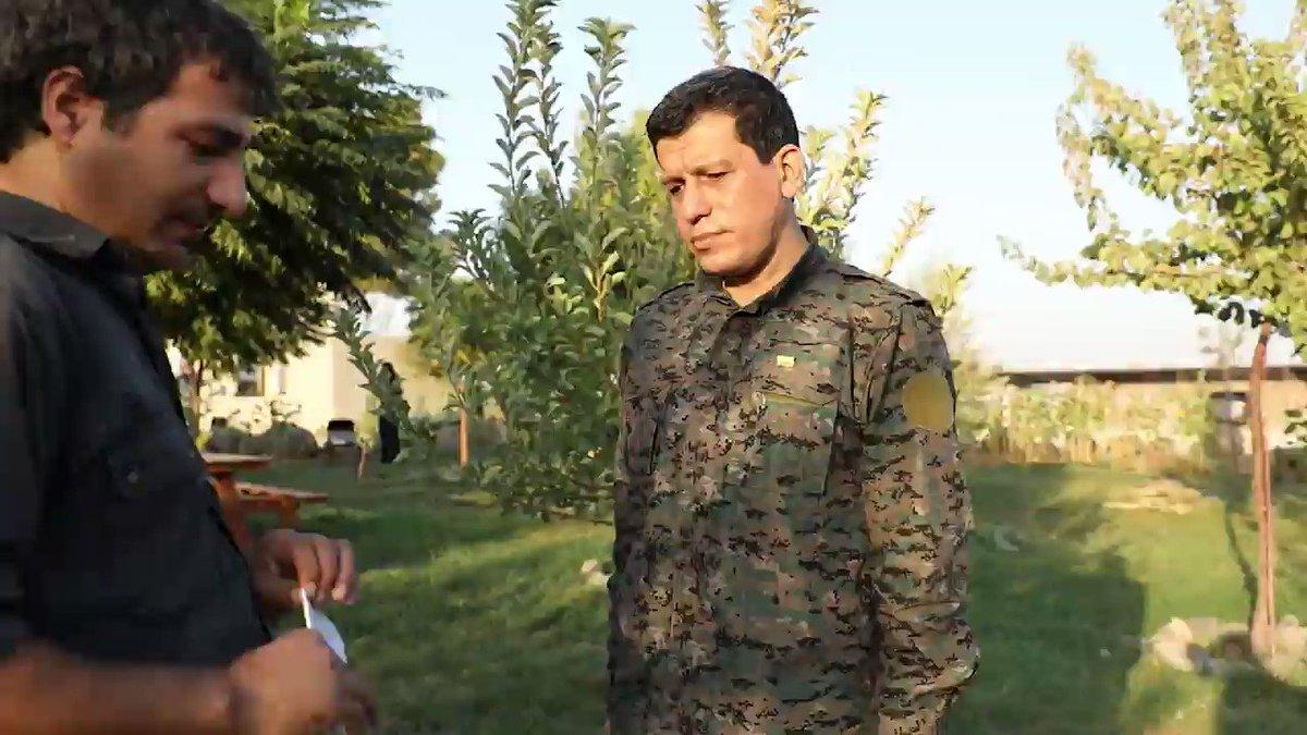 Mazlum Abdi: Turkey is not in favour of a solution in Syria @MazloumAbdi medyanews.net/mazlum-abdi-tu…