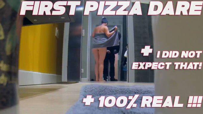 🇺🇸My first #PizzaDare is online! I'm not going to forget it 😅 🇪🇸 ¡Mi primer #Deliverydare está en línea