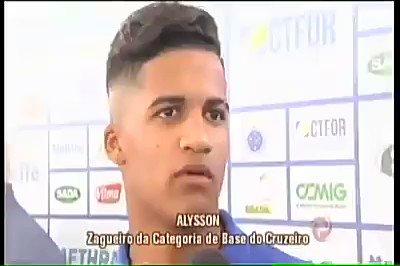 Olha o que esse jogador do #Cruzeiro falou. 😂 🤣 😂 Não tem outro jeito 😂 😂 😂.