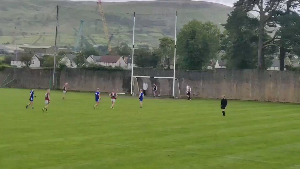 A second Colm McGoldrick penalty makes it @EoghanRua 3-7 , @ClaudyGAC 1-12.....