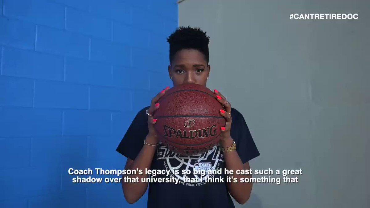 @McNuttMonica on the impact and legacy of Coach John Thompson Jr. 🥺💙🏀 @GeorgetownWBB