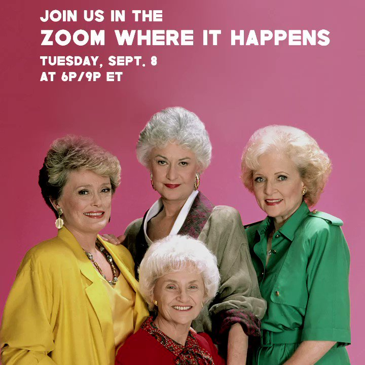 Golden Girls remix... hit the link mobilize.us/zoomwhereithap… #zoomwhereithappens