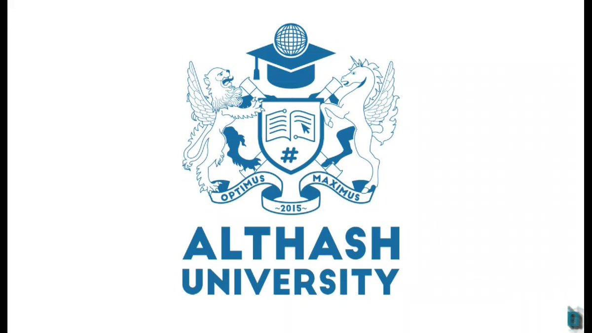 Image for the Tweet beginning: Althash University Batch 9 class