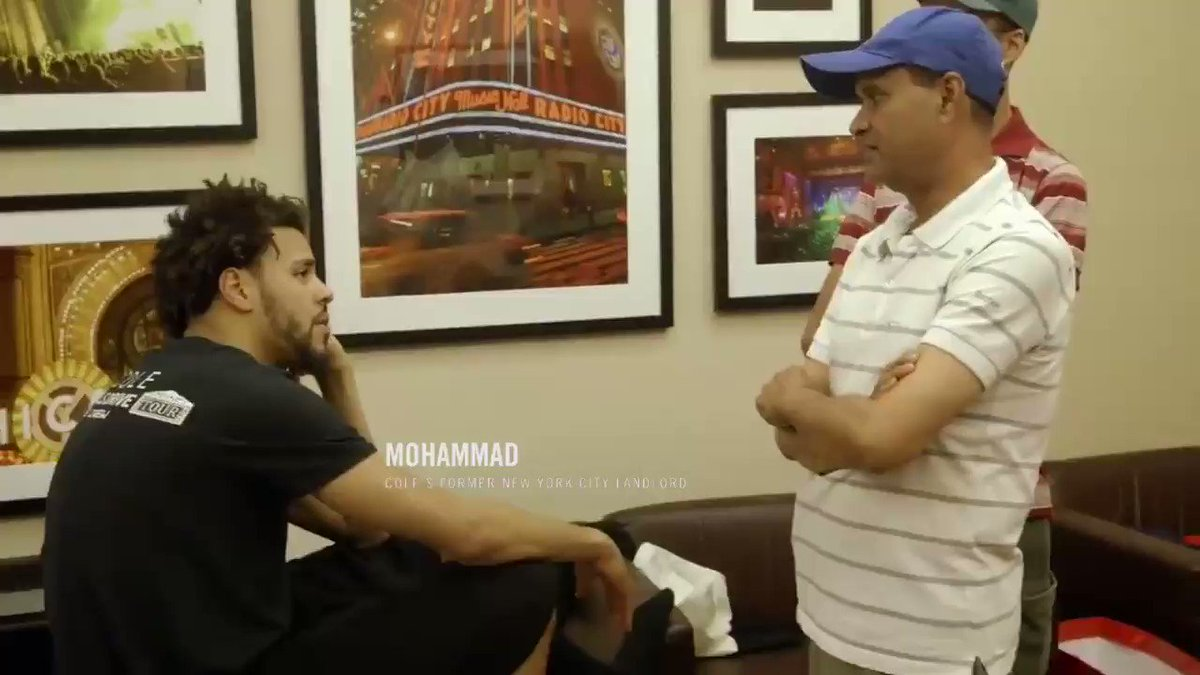 Believe in people like J. Cole's landlord believed in him ⚡️ https://t.co/nvUVBXg4HH