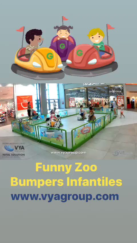 Image for the Tweet beginning: Funny Zoo - Mini Bumpers.