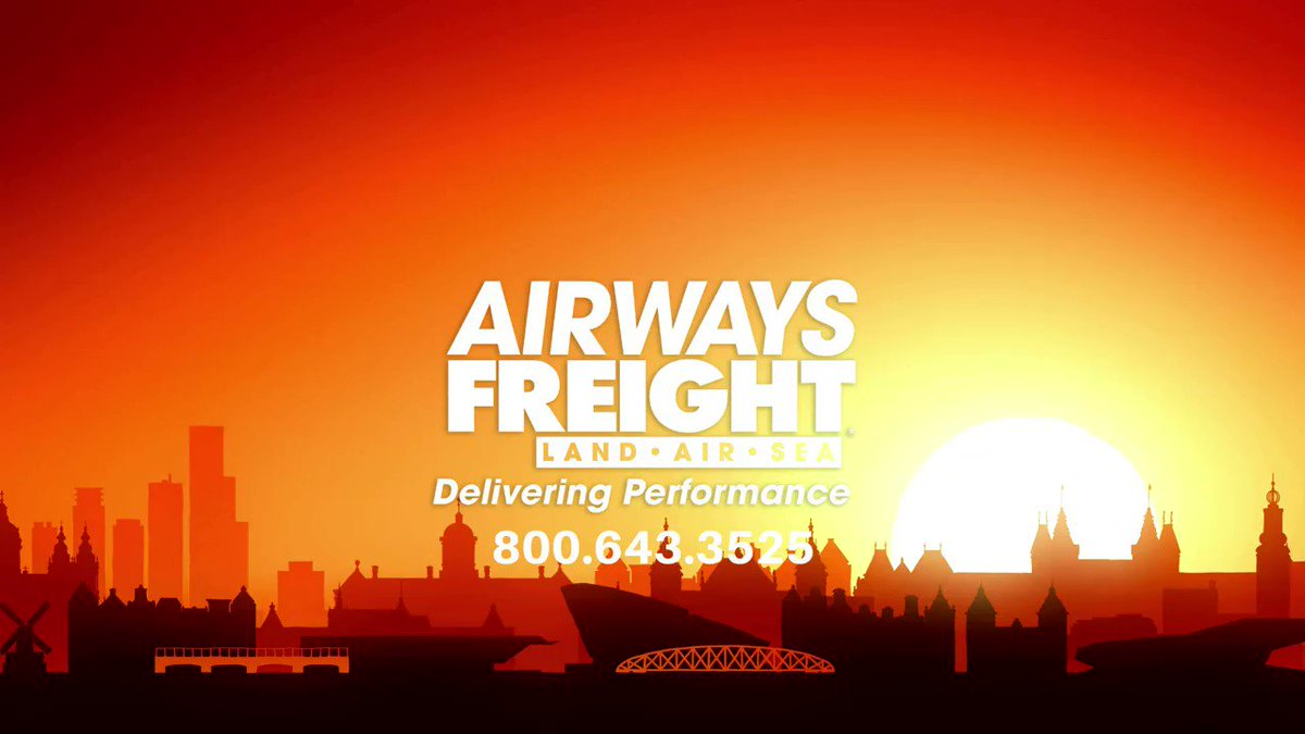 Image for the Tweet beginning: Airways Freight - Taking your