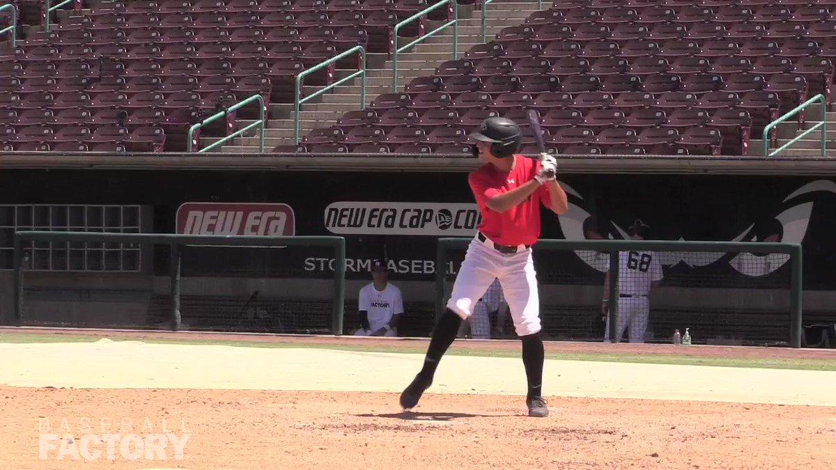 Image for the Tweet beginning: 2021 @ASU_Baseball commit Cameron Magee