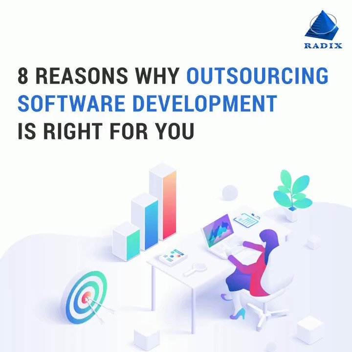 Image for the Tweet beginning: Outsourcing #software #development is a