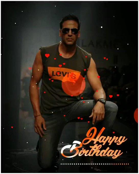 Happy birthday@ akshay kumar