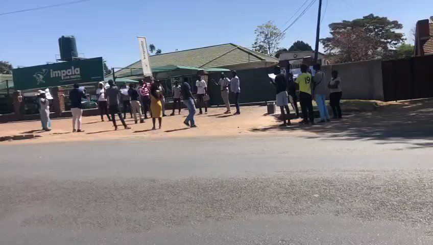 [1/3] We visited @impalacarrental to make an action - statement that abductions & torture are the worst forms of violence against citizens. We upgrading the #BoycottImpala to #SabotageImpala till they release evidence on abductions because #ZimbabweanLivesMatter! #PeoplePower