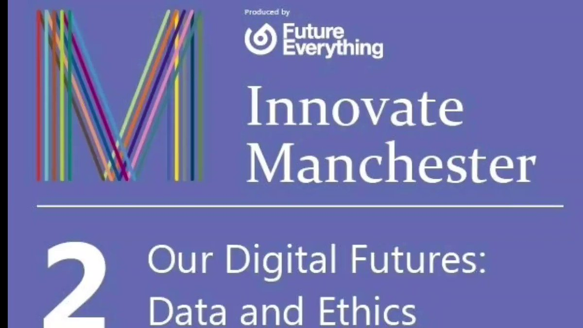 Open invite to Our Digital Futures: Data and Ethics taking place on 23rd Sept, 930am BST with me, @MrVikas @emercoleman and more. Follow @MIDAS_MCR for details.