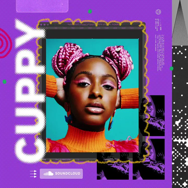 🗣️ Introducing #FOSC artist @cuppymusic AKA the Princess of Afrobeats. At 27 years old, she's already a veteran of the African music scene. Listen for yourself. 👉 lnk.sc/3k19ecF