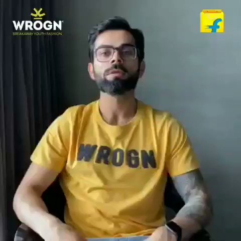 Wrogn Footwear just launched on @Flipkart and I'm really excited to share this with you guys!  🤩  Hit the link below and get ready to get your #WrognFootForward! @StayWrogn
